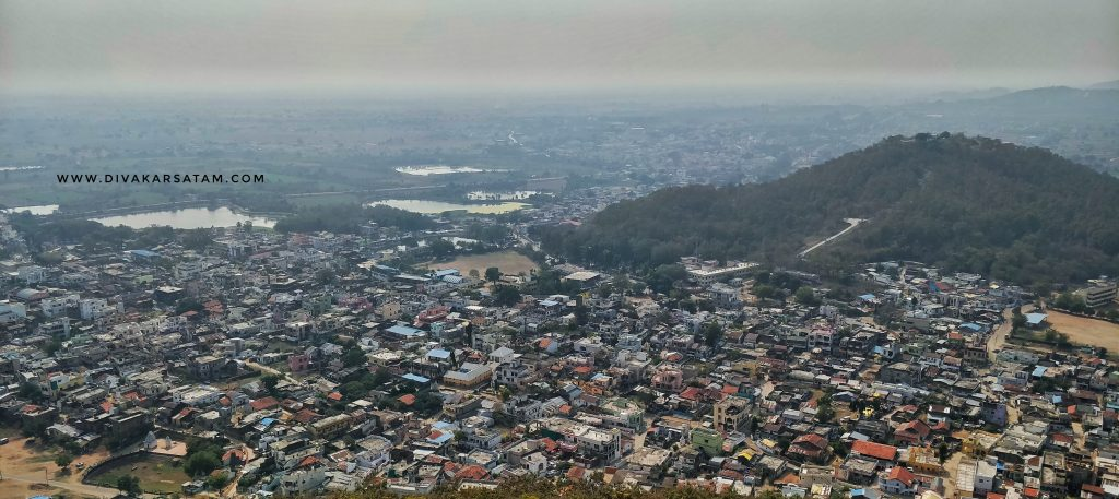Ramtek City from Ramtek frot