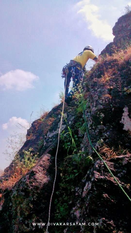 Rockclimbing start by me